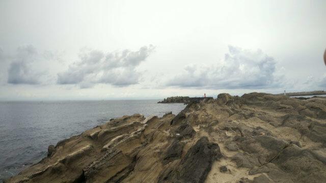 城ヶ島 海 岩場