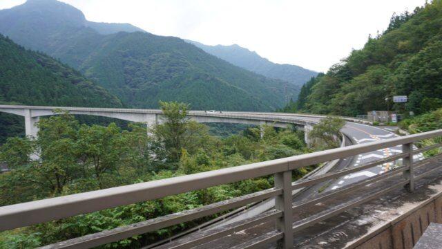 秩父ツーリング 雷電廿六木橋(ループ橋)