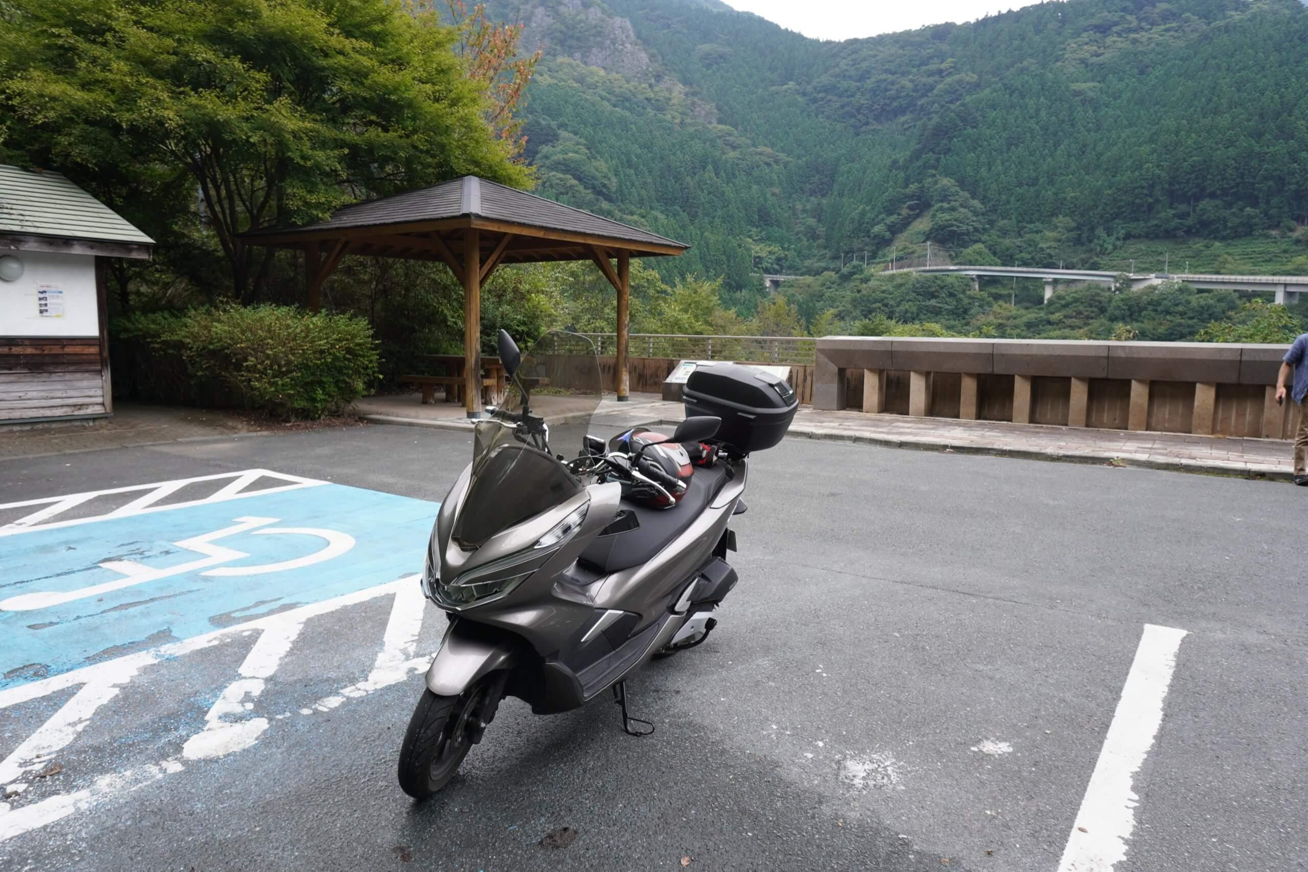 秩父ツーリング 雷電廿六木橋(ループ橋)3