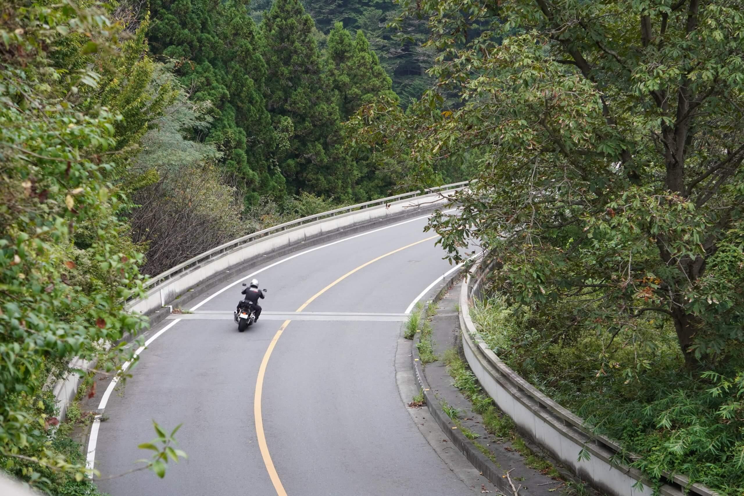 秩父ツーリング 雷電廿六木橋(ループ橋)4