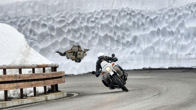 冬 バイク ツーリング1