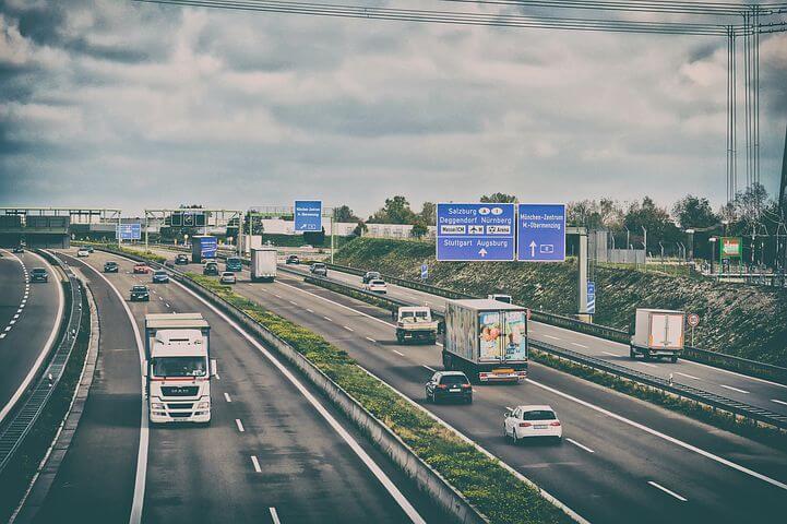 PCX150 高速道路